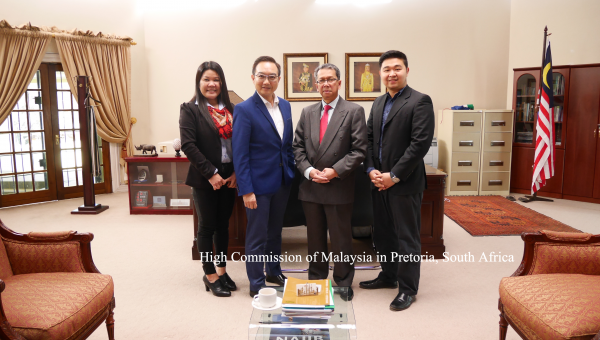 Meeting With the High Commissioner of Malaysia in South Africa